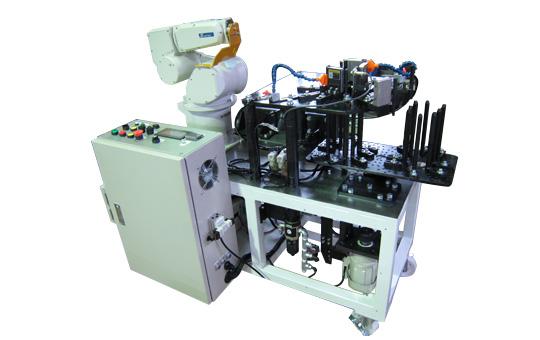 プレス用多軸ロボ 搬送システム